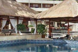 Pool Bar Landscape